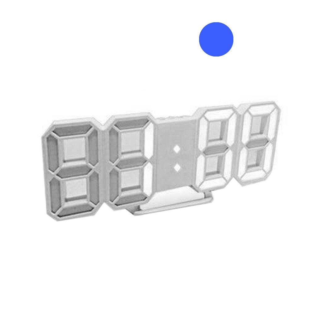 Nơi bán Tupac 3D LED Kỹ Thuật Số Hiển Thị 12/24 Giờ Tường Báo Lại Đồng Hồ Báo Thức Nhà Trang Trí Phòng Khách