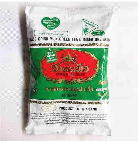 Serbuk Teh Hijau Thai Green Tea By Dhiadamia.