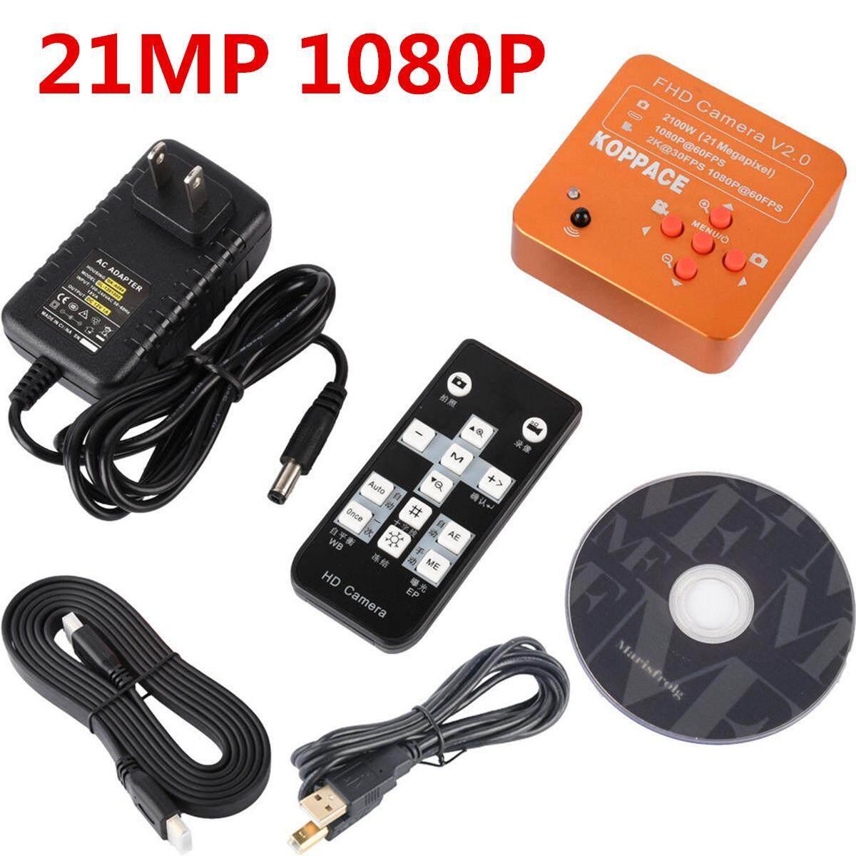 Koppace 21mp 1080p 60fps Hdmi Usb Fhd Industrial Microscope Digital Camera By Freebang.