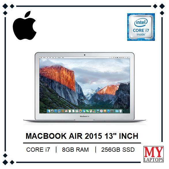 APPLE MAC BOOK AIR 13 INCH CORE i7 / 8GB RAM / 256GB SSD FLASH STORAGE / MAC OS MOJAVE Malaysia