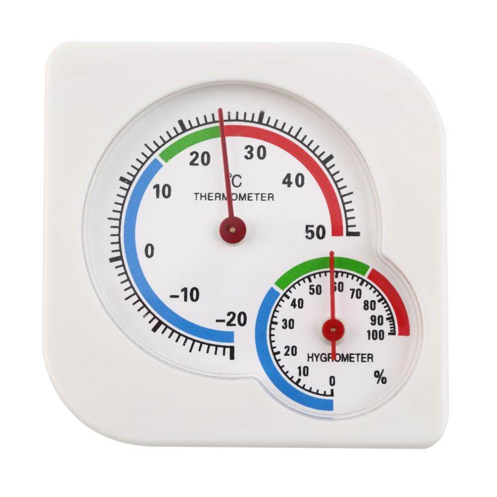 Indoor Outdoor Mini Wet Hygrometer Humidity Thermometer Temperature Meter By Lolife