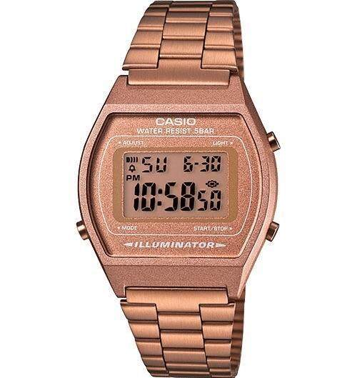 SPECIAL PROMOTION CASIO_DIGITAL ROSE GOLD COLOR STAINLESS STEEL WATCH FOR WOMENS Malaysia