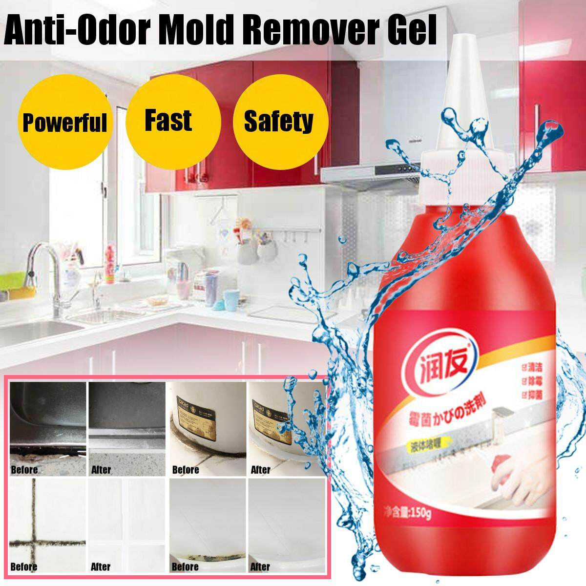 Household Chemical Miracle Deep Down Wall Mold Mildew Caulk Gel Remover Cleaner