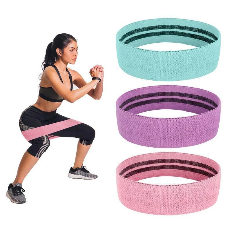 Bảng giá Thảm Tập Yoga Vòng Hông Căng Thẳng Băng Thun 3 Màu Một Gói