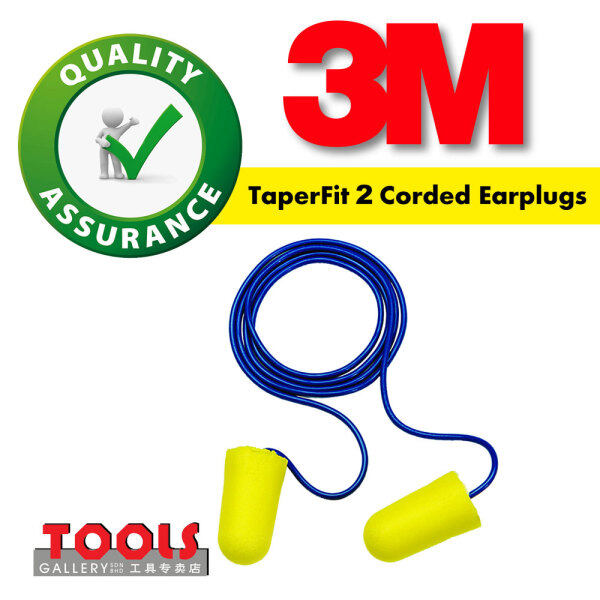 3M™ TaperFit™ 2 Corded Earplugs