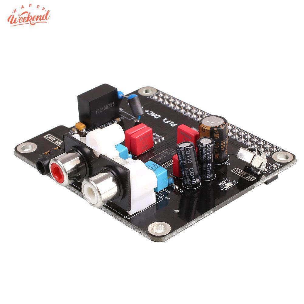 HIFI DAC Audio Sound Card Module I2S Interface For Raspberry Pi B+ 2 B Black