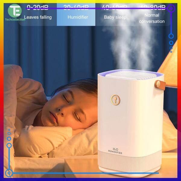 White/Pink Mute USB Home Air Humidifier Portable Car Bedroom Moist Maker Purifier Machine Singapore