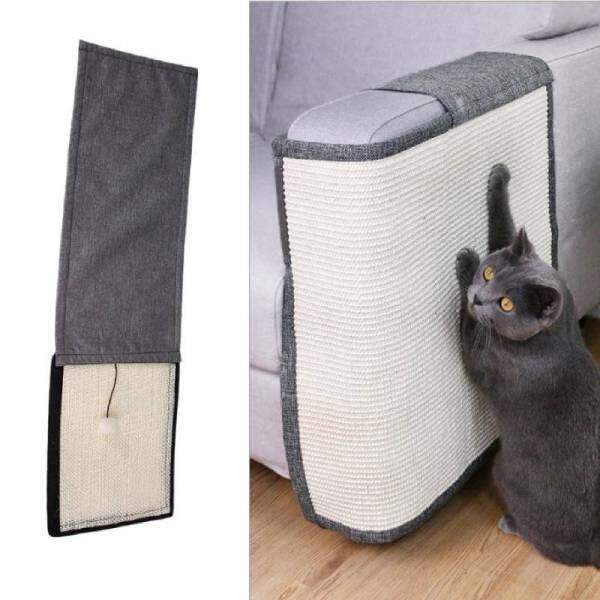 Đồ Nội Thất Ghế Sofa Tay Vịn Mới Đồ Chơi Cho Thú Cưng Đồ Chơi Cho Mèo Cào Sáng Tạo Mới Móng Vuốt Mèo Salu Mèo Cào Tấm Bảo Vệ Sofa Đồ Dùng Cho Thú Cưng