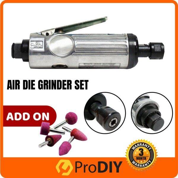 1/4 15Pcs Pneumatic Mini Air Die Grinder Set Grinding Mill Engraving Tool Polishing Machine ( RD-F2001 )