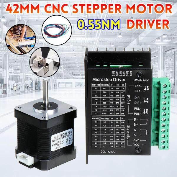 Giá Bộ Điều Khiển Động Cơ Bước Kỹ Thuật Số 24V 42 Mm Bộ Bảng Mạch 0.55nm Cho Máy In 3D Bộ Phận CNC