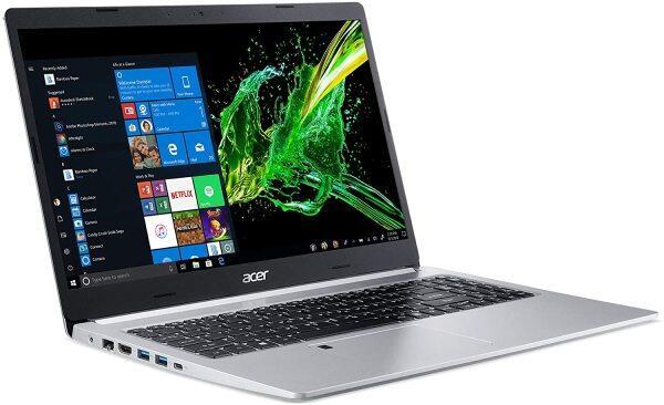 Acer Aspire 5 Slim Laptop, 15.6 Inches FHD IPS Display, 8th Gen Intel Core i5-8265U, 8GB DDR4, 256GB SSD, Fingerprint Reader, Windows 10 Home, A515-54-51DJ Malaysia