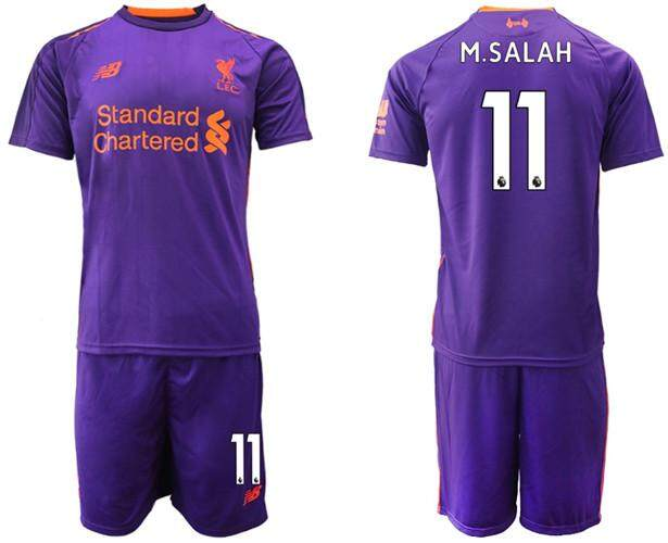 d7f1802bb New Balancē Official Premier League Liverpool Football Club #11 Away 2018-19  Season Men