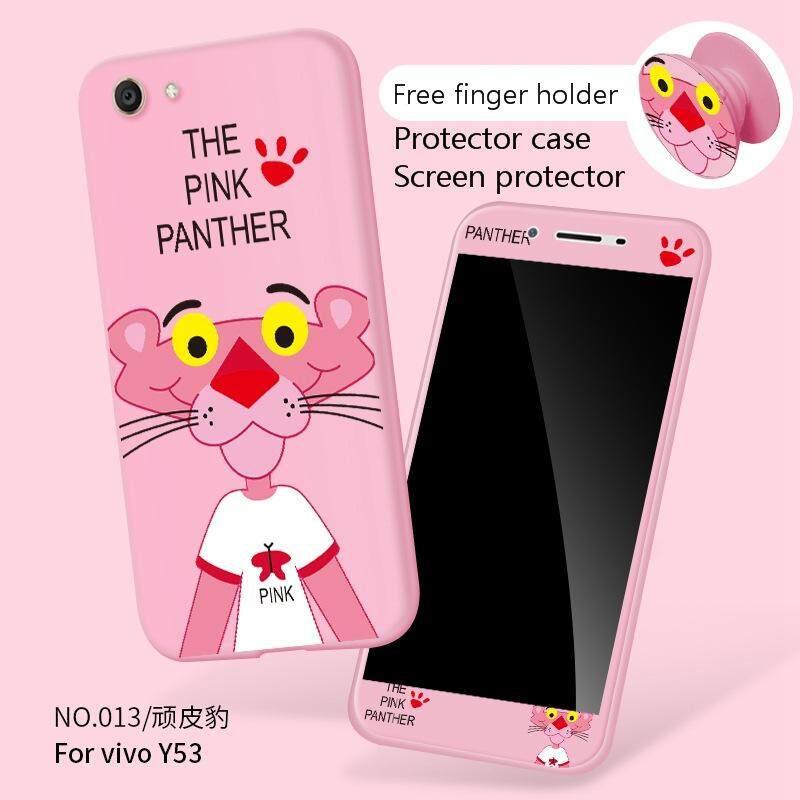 Vivo Y53/Y53A/Y53L Fashion 360 Gelar Penuh Casing TPU Lunak Plastik Case Casing