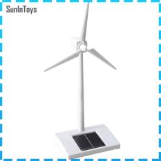SunInToys Năng Lượng Mặt Trời Powered 3D Cối Xay Gió Lắp Ráp Mô Hình Giáo Dục Vui Vẻ Trẻ Em Món Quà Đồ Chơi