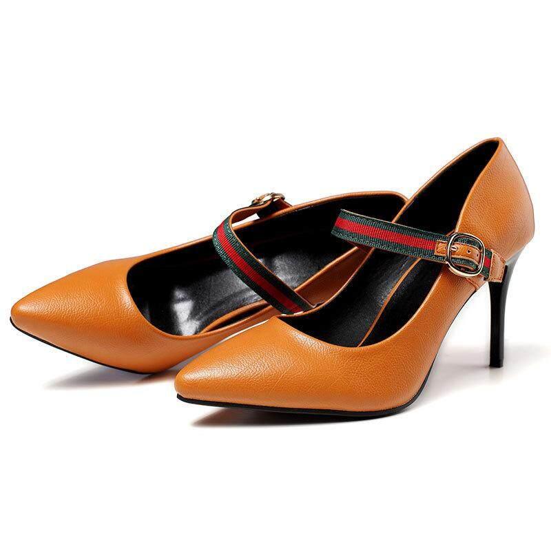 94885ec5bba8 Plus Size(EU 35-42) Sandals Women Shoes Pointed Toe Pumps Womens