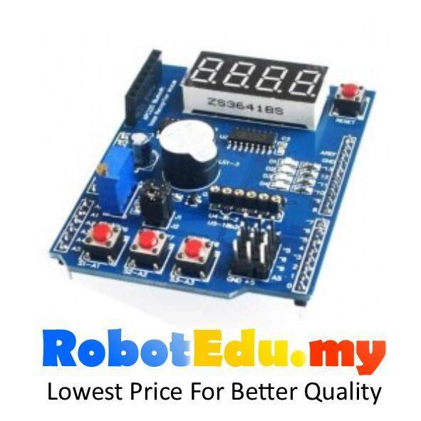 Arduino Multi Function Learning Shield ; Quick Education Starter Kit Malaysia