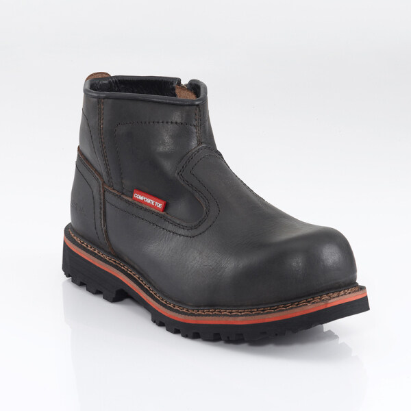 ASPIDA Collina C902 Mid Cut Side Zip Up Safety Boots
