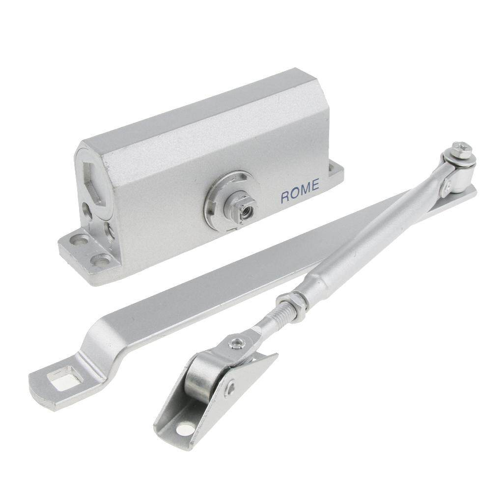 Dolity Automatic Door Closer Self-Closing Shutter for Home/Commercial Capacity 45kg