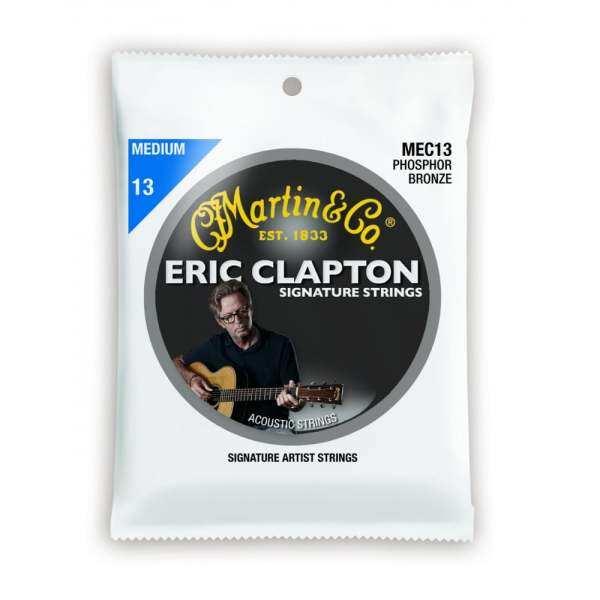 Martin MEC13 Eric Clapton Acoustic Guitar Strings Phosphor, 013-056 Malaysia