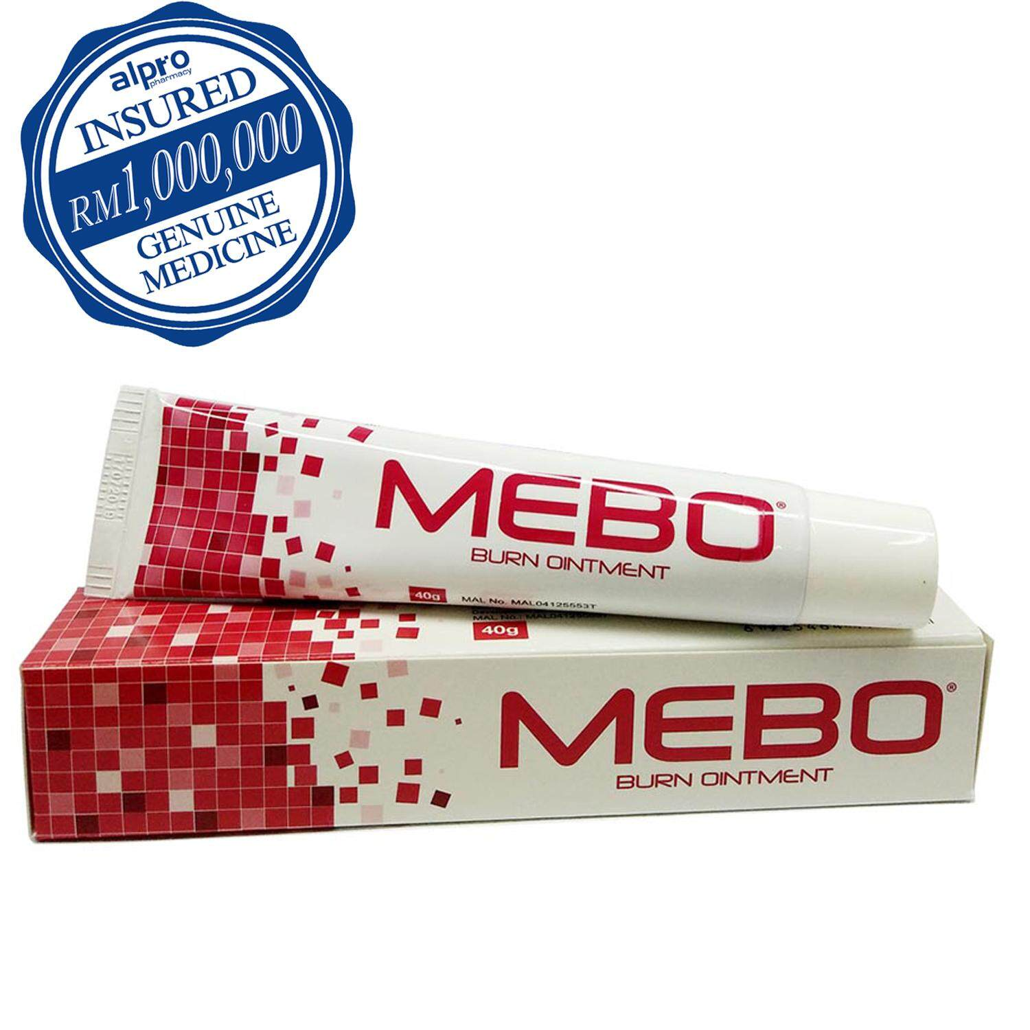 Mebo Burnt Ointment 40g By Alpro Pharmacy.