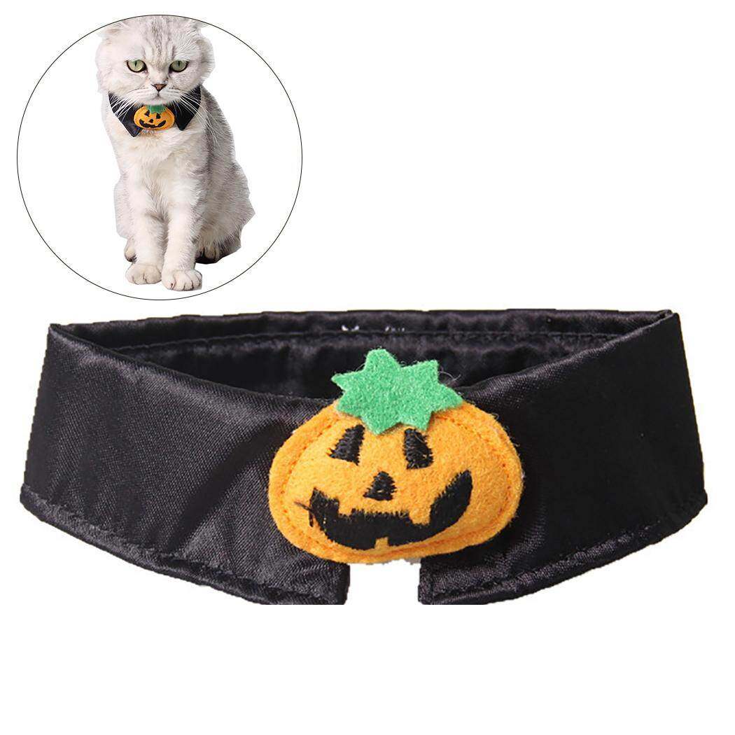 Nơ Đeo Cổ Sáng Tạo Bí Ngô Thiết Kế Mèo Cà Vạt Mèo Cổ Trang Trí Trang Phục Hóa Trang Halloween cho Mèo - 5