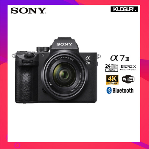 Sony Alpha a7 III / a7III / a73 Mirrorless Digital Camera with 28-70mm Lens (NEW JAPAN SET)