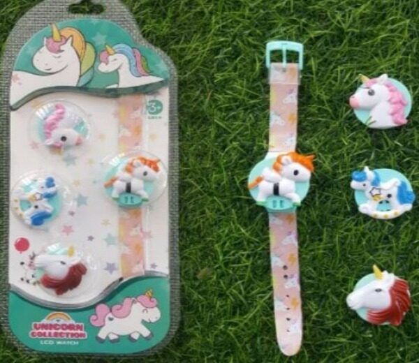 Kids Watch Unicorn Collection 3+ Ages (-_-) Malaysia