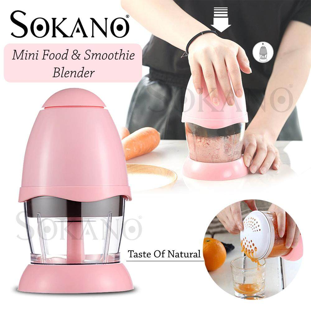 SOKANO RS586 Baby Food Blender Mini Chopper Food Processor Mini Blender Smoothie Maker for Baby Food image on snachetto.com