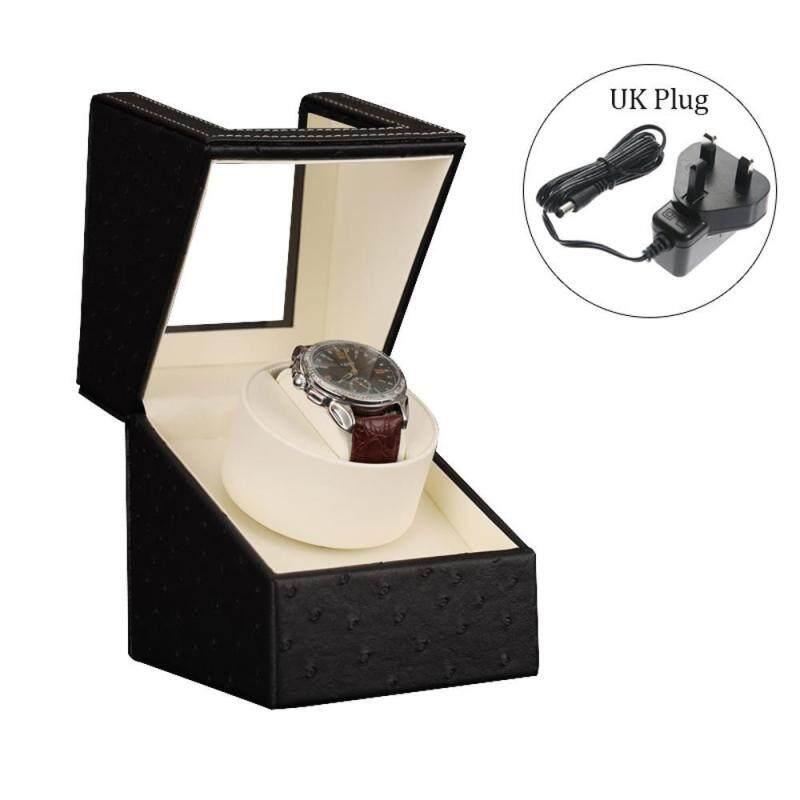 GoodGreat Watch Boxes watch winder Full Black Shaker Revolving Box Self-winding Box Winding Box Watch Gift Box Malaysia