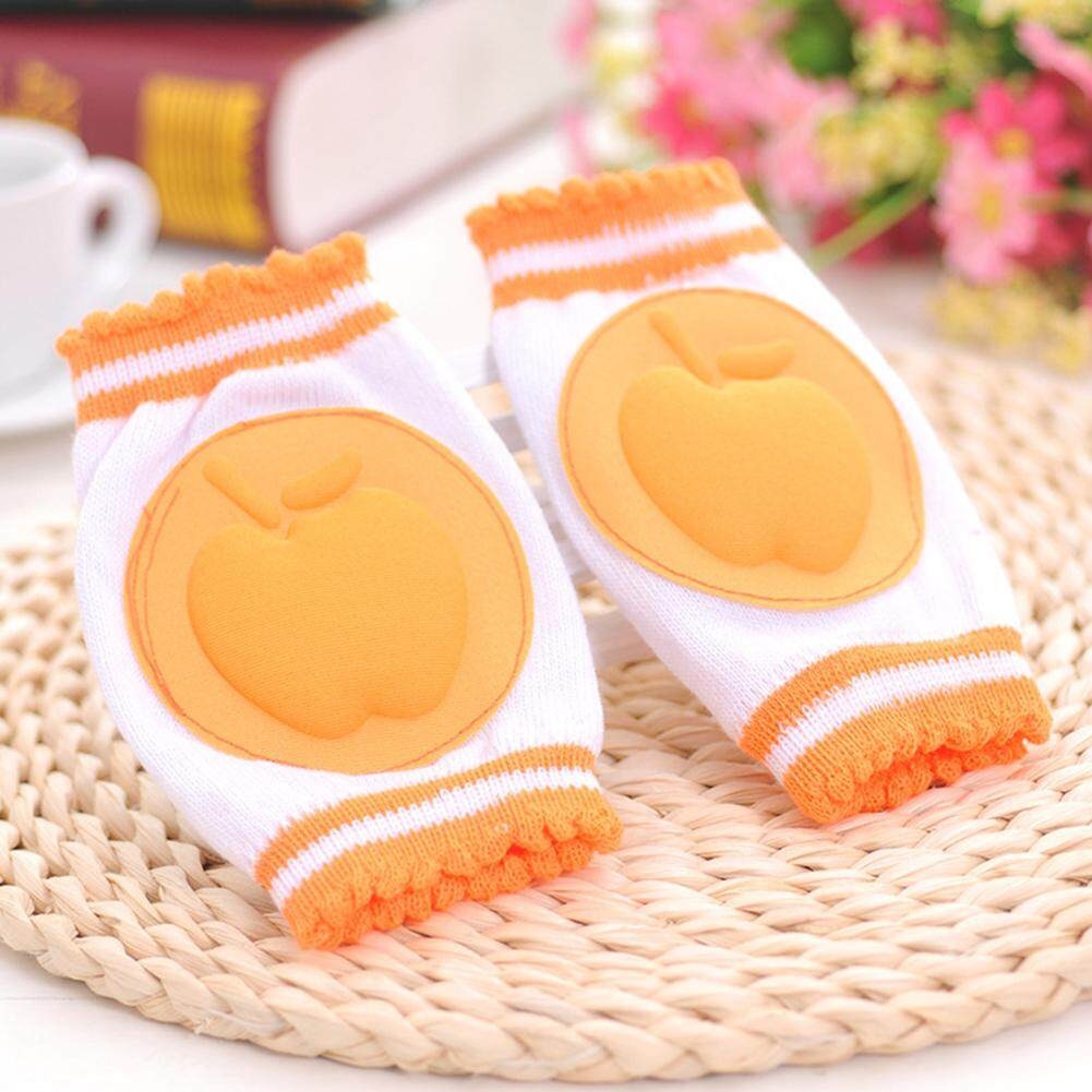 [Little care]1Pair Baby Kneepad Girls Pink Knee Pads Cozy Cotton Breathable Sponge Children Elbow Pads