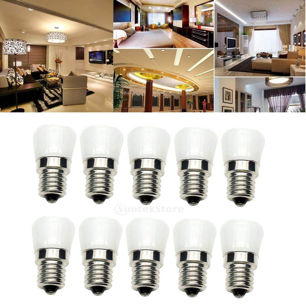 Miracle Shining 10-Pack 2W LED Light Bulb Reflector Lamp Spotlight Replacement Bulb E14 Warm