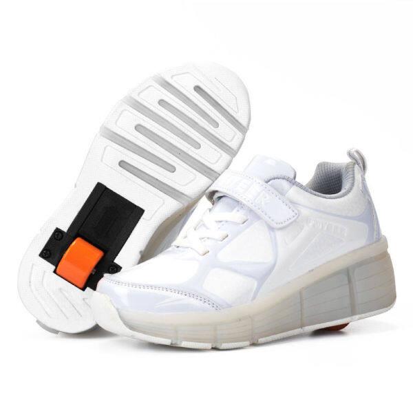Giá bán Giày Đi Bộ Cho Trẻ Em Giày Trượt Băng Một Bánh Nam Và Nữ Trẻ Em Học Sinh Trưởng Thành ◆