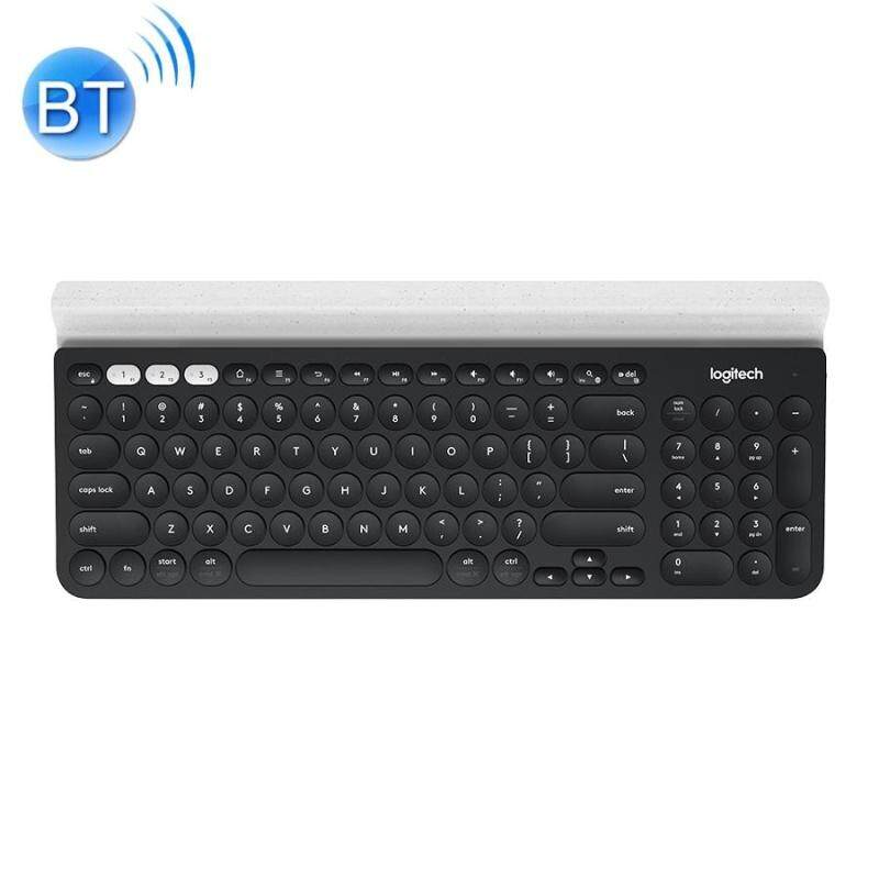 Logitech K780 Multi-device Bluetooth + Unifying Dual Mode Wireless Keyboard with Stand (Black) Singapore