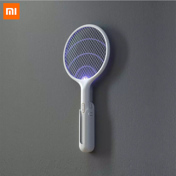 Xiaomi Mijia Qualitell 2 in 1 Electric Mosquito Swatter Portable Camping Travel Anti-electric USB Charging Wall-mounted Mosquito Dispeller For Home