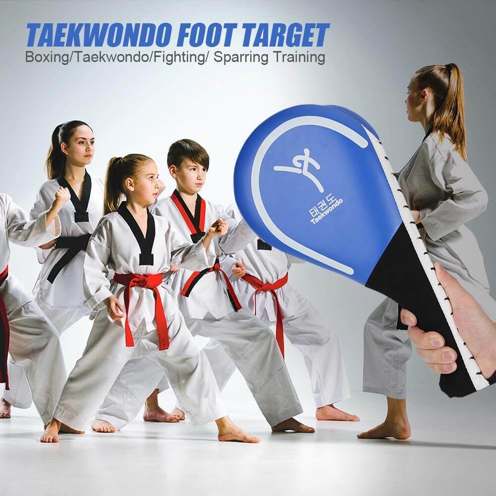 [[HOSPORT] PU Taekwondo Sparring Bật Lại Xốp Đá Mục Tiêu Xanh Dương Miếng Lót Frosted Tay Cầm