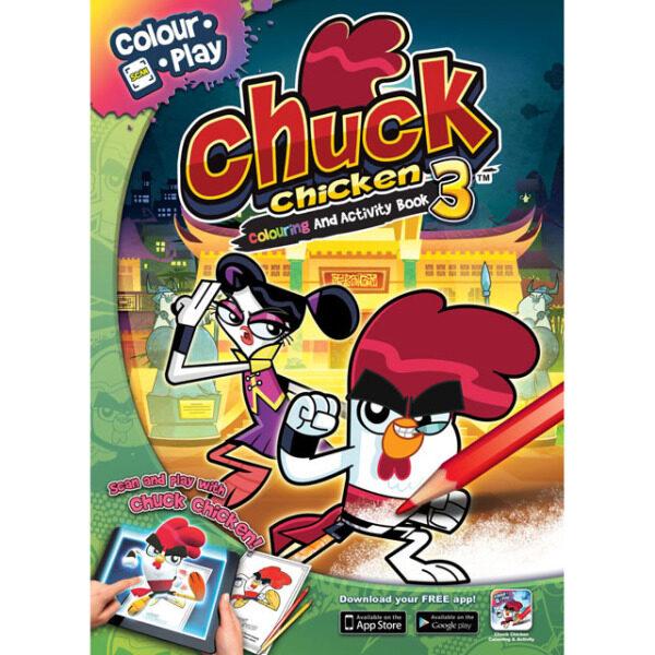 (Pre-order) CHUCK CHICKEN - Colouring & Activity Book 3 (ETA: 2021-07-31) Malaysia
