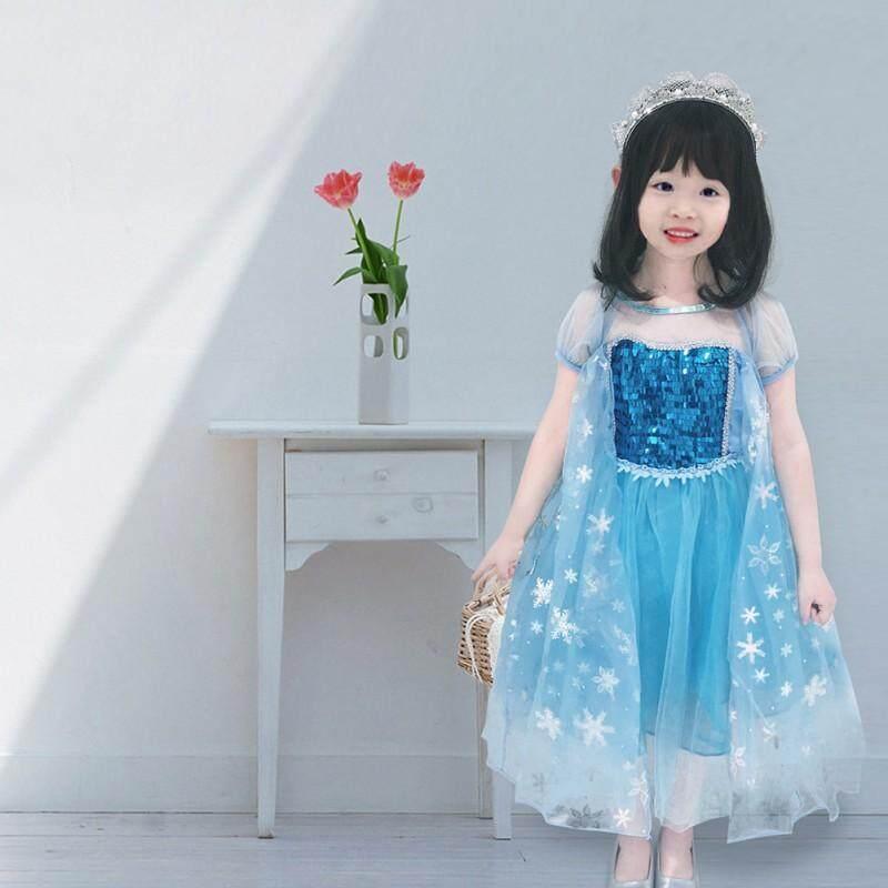 Giá bán Thời Trang Mới Mùa Hè Của Lovefashion-girls Trẻ Em Cô Gái Váy Lưới Cotton Giản Dị Trẻ Em Váy Tay Ngắn