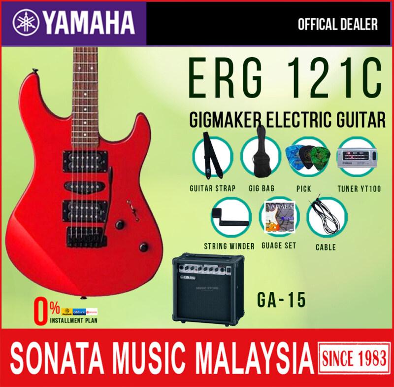 Yamaha ERG121C/ GigMaker Electric Guitar Pack Red Malaysia