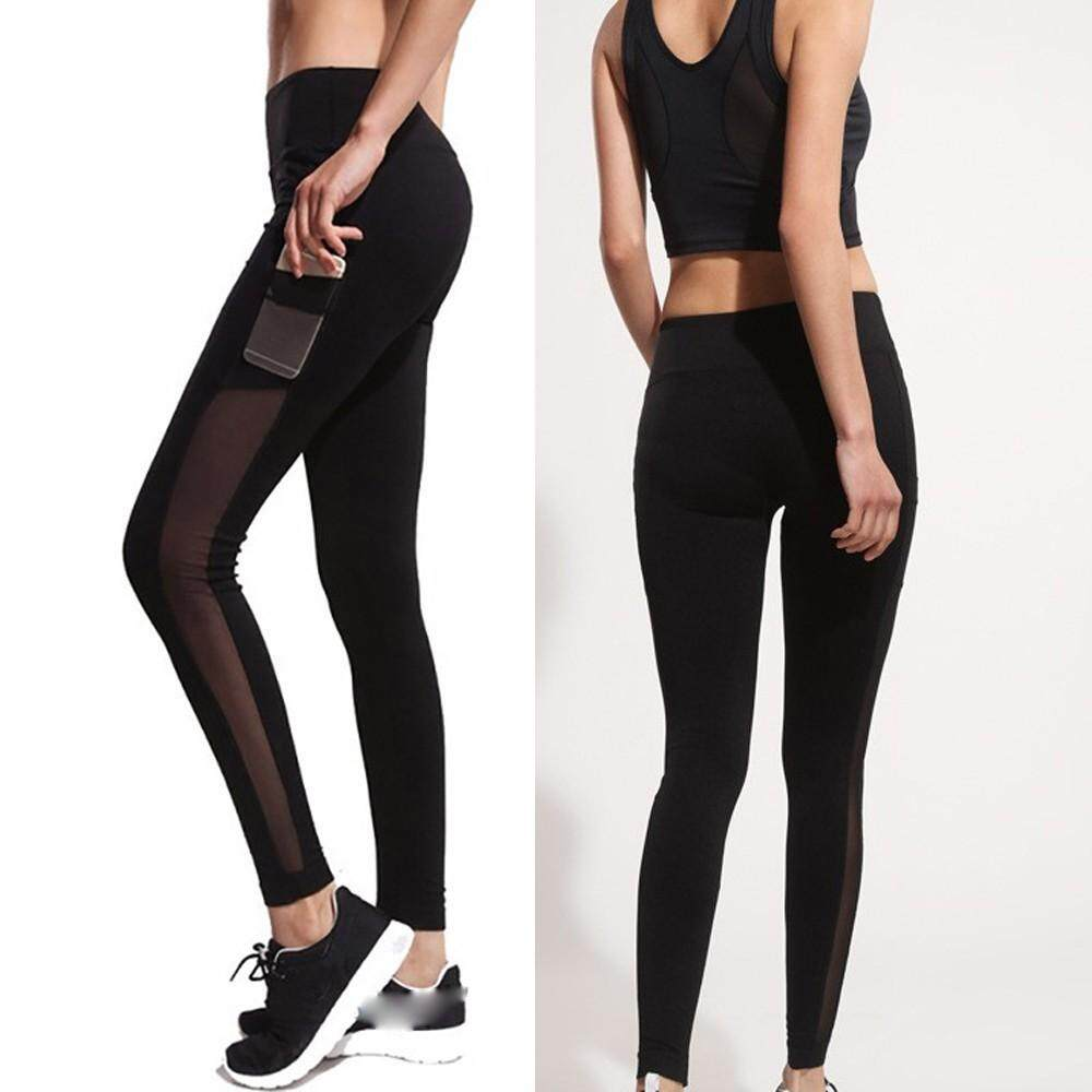 906a15f8 Xiaoguitou Women's Fashion Workout Leggings Fitness Sports Gym Running Yoga  Athletic Pants