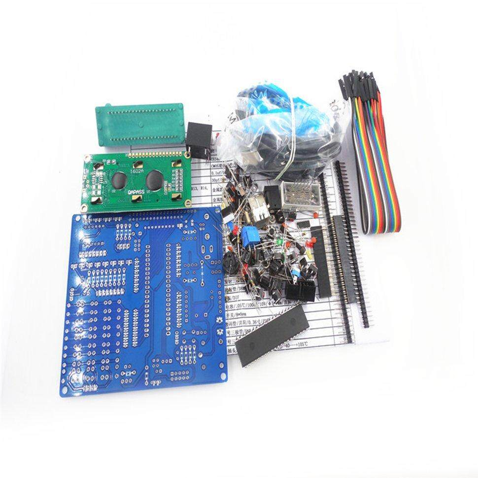 BGD HW-471 51 MCU Development Board DIY Kit Welding Component Core Board Parts