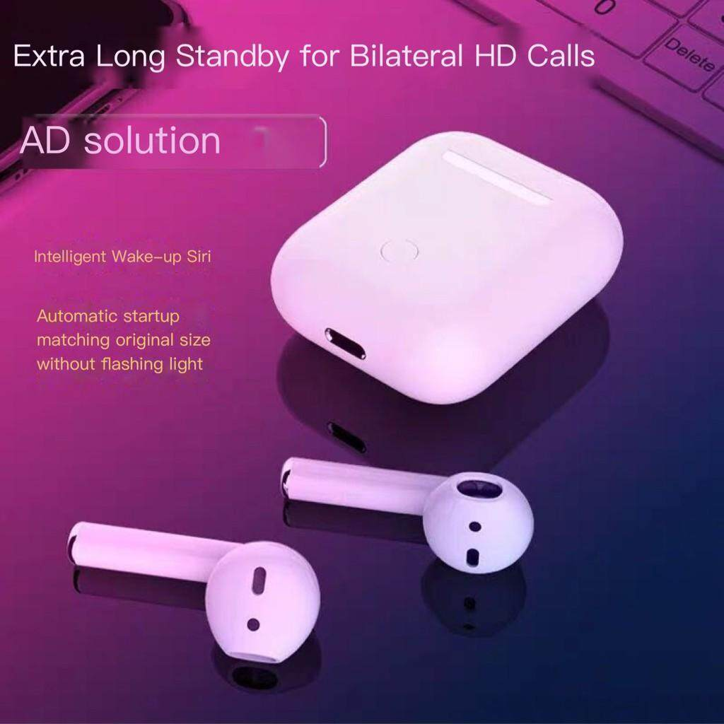 i12 TWs bluetooth headphone connects to iPhone android headphone to answer phone calls Wireless bluetooth headset