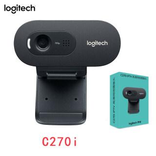 Cho Webcam Logitech C270i HD Video 720P Chính Hãng Camera Máy Tính Micro Tích Hợp USB2.0, USB 2.0, Cho Cuộc Gọi Video Máy Tính Xách Tay PC thumbnail