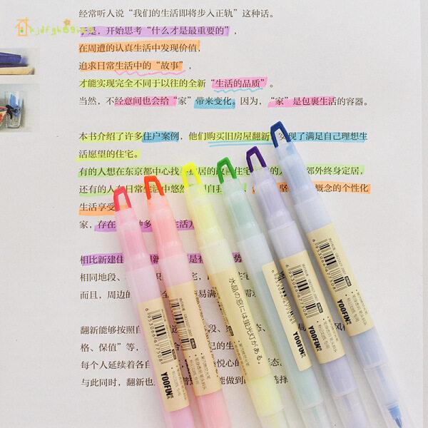 Mua Bút Đánh Dấu Đầu Kjdf 6 Bút Đánh Dấu Màu Cho Học Sinh Vẽ Tranh
