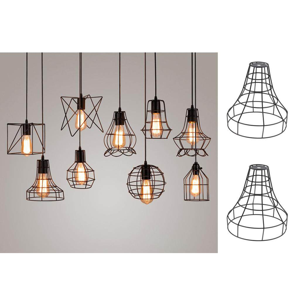 Fityle 2x Chandelier Lampshade Ceiling Light Shade Cover Pendant Lights Fixture