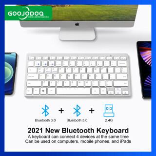 , 3 Chiếc Bluetooth 5.0 Và 2.4G Kết Nối 4 Thiết Bị Cùng Lúc, Cho Macbook Máy Tính Xách Tay iPhone iPad Android thumbnail