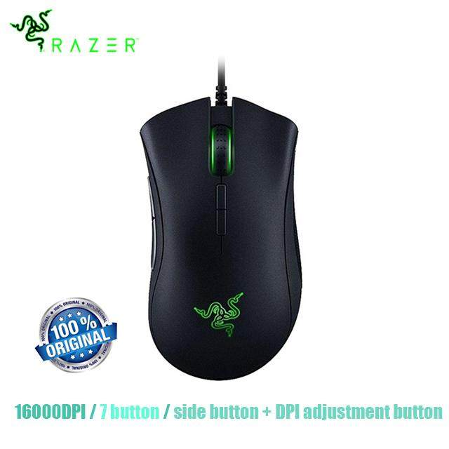6806c0f0f3d Razer DeathAdder Elite Wired Gaming Mouse 16000DPI Optical Sensor Ergonomic  7 Independently Programmable Buttons Mouse