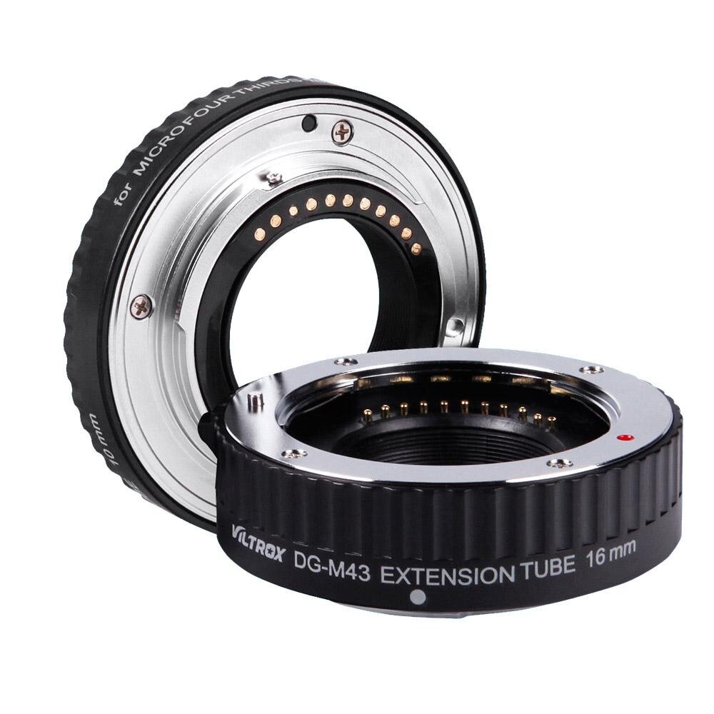 MeterMall Electronics Metal Mount Lens Adapter Auto Focus AF Macro Extension Tube Ring for Canon EOS EF-S Lens 750D 80D 7D T6s 60D 7D 550D 5D Mark IV Gold
