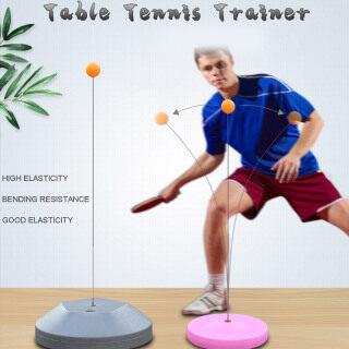 Bàn Tennis Phục Hồi Huấn Luyện Viên Mái Chèo Thiết Bị Tập Bóng Bàn, Trục Hồi Phục, Máy Đóng Gáy thumbnail