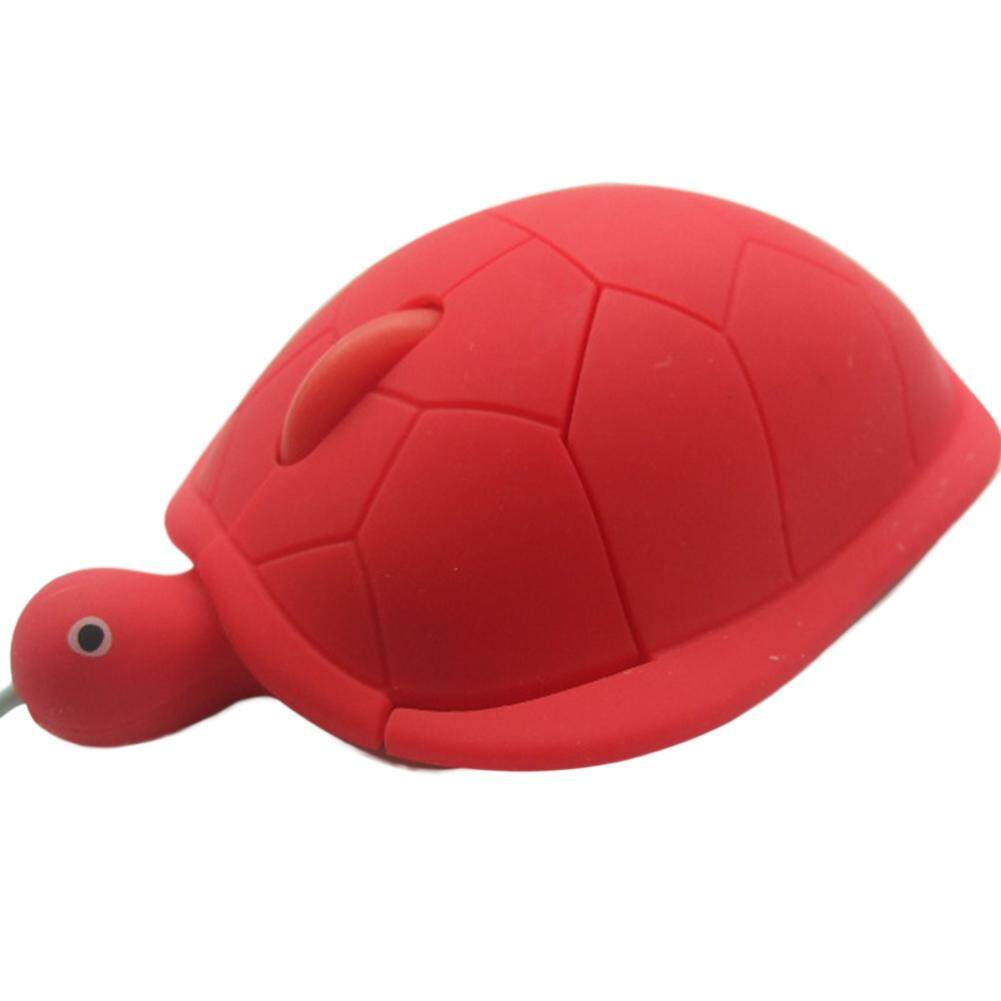 Brand New USB 2.0 1000dpi 3D Wired Optical Cute Turtle Mice Mouse For PC Laptop