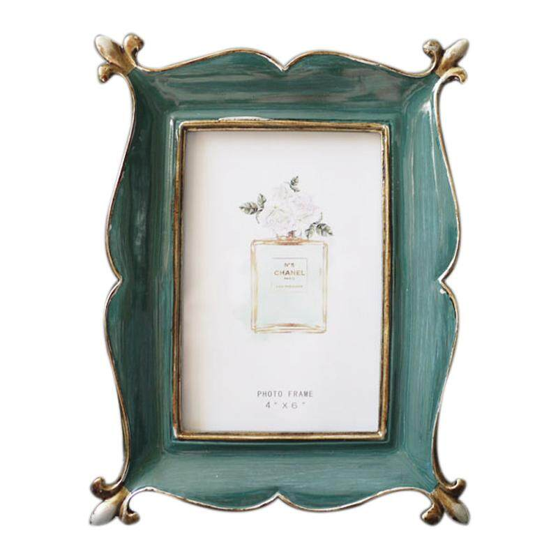 d1b9d6f274d New Resin Retro Blackish Green Photo Frame photo frame Home Decorations